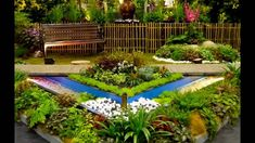 Garden: Small Vegetable Garden Design For Small Yards With Wooden Fences Around Big Trees And Green Grass Decorating Ideas from Small Vegetable Garden Design Ideas
