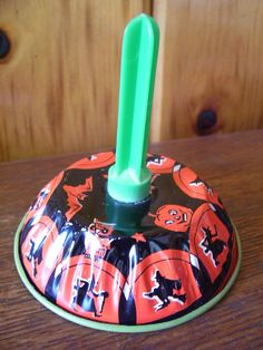 Antique 1960 Tin Toy Halloween Noise maker by stonecottagemill, $19.95