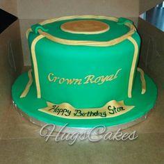 Apple Crown Royal cake