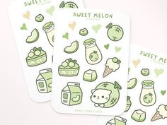 Korean Stickers, Anime Stickers, Kawaii Stickers, Cool Stickers, Printable Stickers, Sticker Shop, Sticker Design, Preppy Stickers, Homemade Stickers
