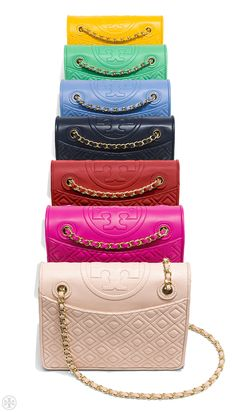 The Fleming Bag   Our favorite ladylike bag just got a brighter outlook.