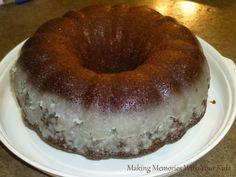 Crack Bundt Cake- this was soooo delicious!