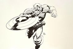 Captain America by Deodato Jr by Mike Deodato Jr. - Comic Strip