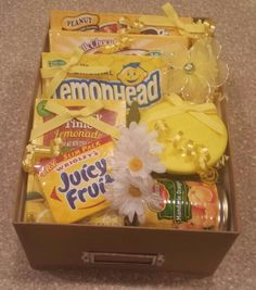 Box of Sunshine by Gifted Occakesions n Baskets!