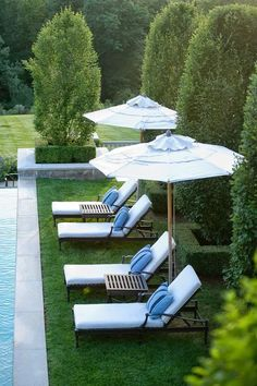 Love these chairs for the pool