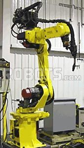FANUC ArcMate 100i - designed to deliver peak productivity for arc welding applications