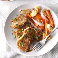 Pork Medallions in Mustard Sauce Recipe -Mustard and apple juice liven up lean pork tenderloin, creating a dish that's ideal for family or special guests. —Tahnia Fox, Trenton, Michigan