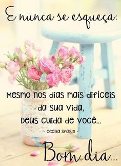 Bom dia !!!!                                                                                                                                                                                 Mais Good Afternoon, Good Morning, Daily Bible Inspiration, Portuguese Quotes, Peace Love And Understanding, Happy Week End, Jesus Prayer, Osho, Peace And Love