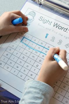 My daughter loves these word searches! Dolch Preprimer Sight Word Printables - 3 Dinosaurs