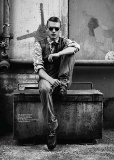 Grainy Gatsby-Inspired Editorials - The Time Traveller Client Magazine Editorial is Retro-Infused (GALLERY) #men #fashion
