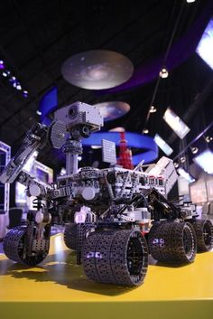 NASA Curiosity Rover made of LEGO MINDSTORMS