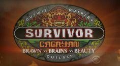 survivor brains vs brawn vs beauty | Survivor Cagayan Brawn vs Brains vs Beauty Survivor: Blood vs. Water ...