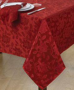 Holiday Joy Tablecloth And Napkin Bed Bath Beyond Christmas