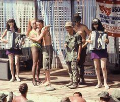 USO Show, Vietnam 1968.. .