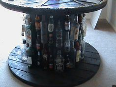 More table ideas with cable spools.