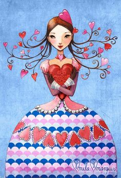 Hello! Pin till your heart is content! No limits...no blocking! Stay awhile and enjoy!      (Mila Marquis illustration)