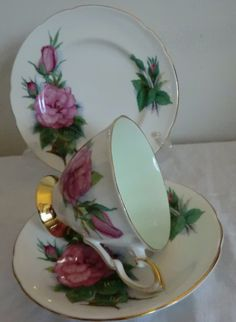 Paragon Harry Wheatcroft World Famous Roses by PrettyVintageHome