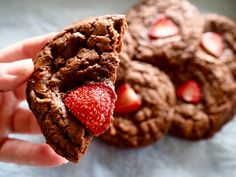 Fudgy, crackly Mother's Day Cookies Mother's Day Cookies, Biscuit Cookies, Biscuits, Chocolate, Cooking, Desserts, Cookie Monster, Brownies, Muffins