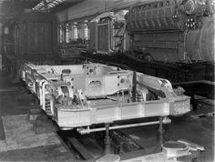 Bogie for LMS diesel locomotive No 10000, Derby Works, 24th October 1947