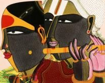 Sanchit Art | Thota Vaikuntam Paintings | Art | Gallery