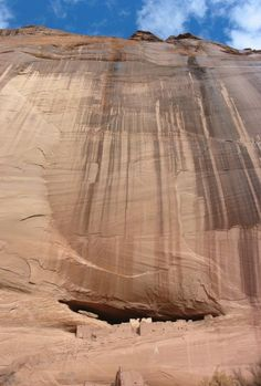 canyon de chelly -  imagine standing at the top. No guard rail, just a straight drop off the edge. My heart beat so fast I couldn't even stand to lay on my stomach & look over the edge. I had to stay back at least 10 feet in order to breathe.