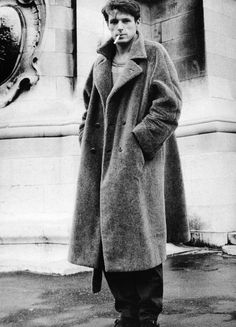 big overcoat. vintage photography by ellen graham
