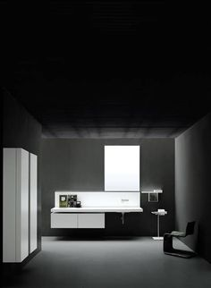 Kitchens, bathroom and storage systems; this is a selection of the best Boffi has to offer. Check out our image gallery. Graphisches Design, Bath Design, House Design, Relaxing Bathroom, Master Bathroom, Set Design Theatre, Boffi, Minimal Kitchen, Amazing Bathrooms