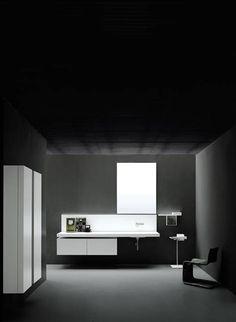Boffi bathroom Pianura white