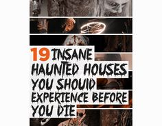 19 Terrifying Haunted Houses You Should Experience Before You Die. Totally need to see some of these!