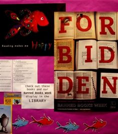 Check out the banned books at The Bay School's Fulbright Library - you've probably read more than one of them!