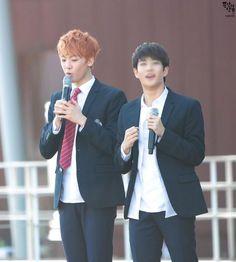 [17.10.2015] Astro Performance - SanHa e MyungJun