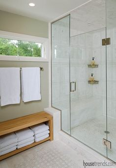 Great bathroom design can pack a lot into a compact space.