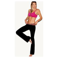 Victoria'S Secret V-Front Bootcut Yoga Pant ($20) found on Polyvore