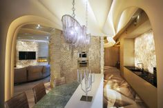 LuxuryHome Design Textured wall treatment