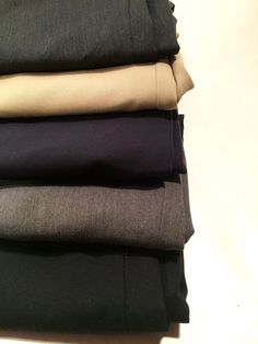 Lot 5 Mens Pronto Uomo 100% Worsted Wool Pants same size. GWO 2.25 sold 75