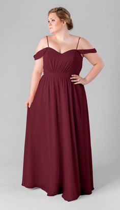 Kennedy Blue Thea is a unique chiffon bridesmaid dress with a boho vibe to  it. 491a356bfb82