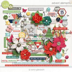 Advent {elements} by Sara Gleason