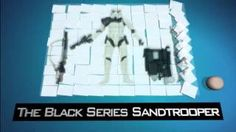Star Wars Gadgets The Black Series Sandtrooper 6″ Figure - YouTube Star Wars Gadgets, Black Series, Stars, Youtube, Movies, Movie Posters, Films, Film Poster, Sterne