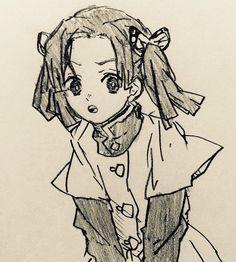 Twitter Manga Anime, Anime Demon, Anime Girl Drawings, Anime Artwork, Demon Slayer, Anime Sketch, Anime Comics, Kawaii Anime, Art Sketches