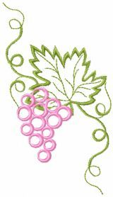 Free Bunch of grapes machine embroidery design Embroidery Files, Embroidery Thread, Première Communion, Altar Cloth, Free Machine Embroidery Designs, Vintage Design, Embroidery Techniques, Needlework, Crafts