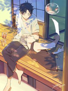 Bokuto X Akaashi, Kuroo, Kagehina, Haikyuu Ships, Haikyuu Fanart, Haikyuu Anime, Fanarts Anime, Anime Characters, Manga Anime