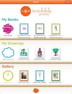 Scribble press. Book maker publishing app.