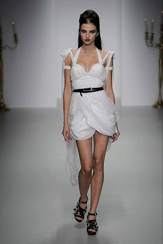 PPQ SS14 London Fashion Week Credit: Catwalking.com