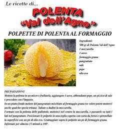 Polpette di polenta al formaggio