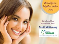 Tooth whitening lightens teeth and helps to remove stains and discoloration. Whitening is among the most popular cosmetic dental procedures because it can greatly improve how your teeth look. Check out http://dentistpalakkad.com/cosmetic-dentistry/