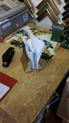 Scratch paper stand