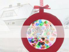 Weihnachtliche Fensterbilder Christmas Bulbs, Holiday Decor, Home Decor, Monster Girl, Christmas, Decoration Home, Christmas Light Bulbs, Room Decor, Home Interior Design