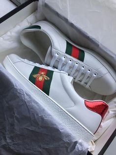 04016a41ea92  Pickup  Gucci Ace Embroidery   Sneakers  Guccihandbags Embroidery Sneakers