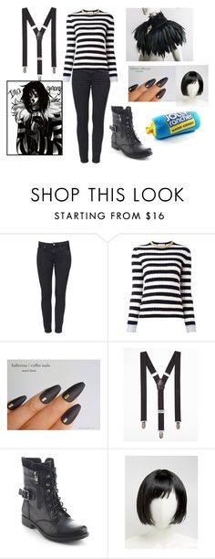 """""""Laughing Jack."""" by crybabyquinn ❤ liked on Polyvore featuring Gucci, Express, Refresh and ASOS"""