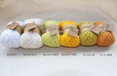 6 pcs/lot 6 Colors Granny Kit 100% Mercerized Cotton Yarn Crochet Knitting Yarn Lace Yarn Baby Yarn For Hand Knitting Crocheting